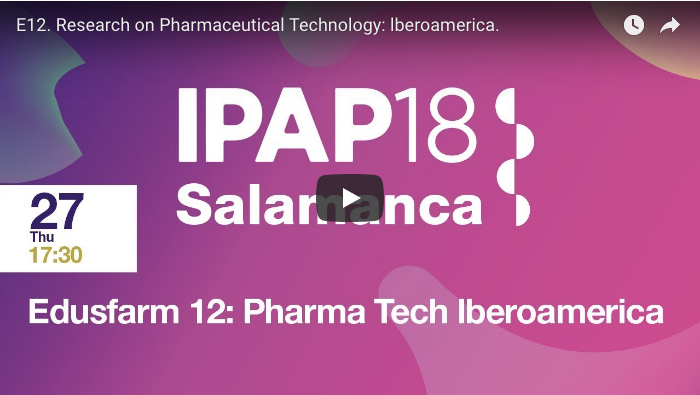 E12 - Research on Pharmaceutical Technology lberoamerica