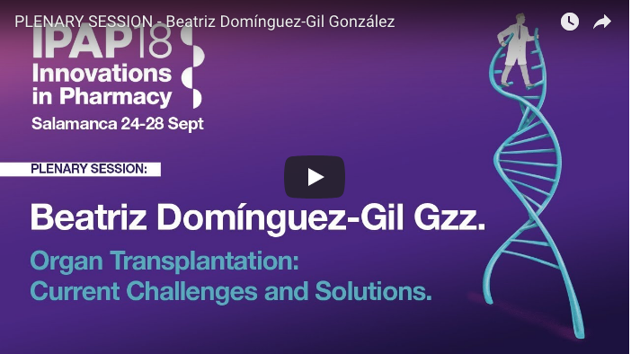 PLENARY SESSION - Beatriz Dominguez-Gil Gonzalez