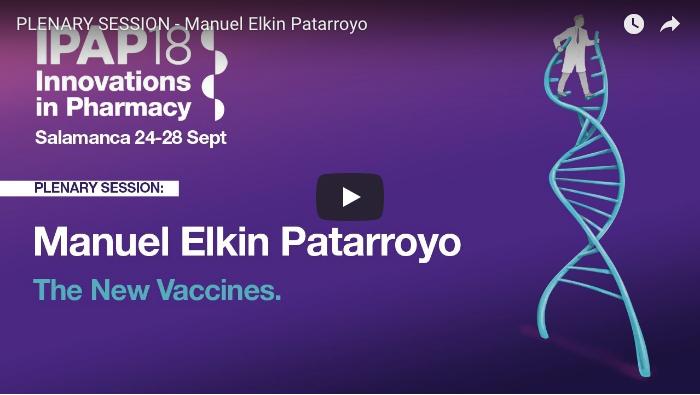 PLENARY SESSION - Manuel Elkin Patarroyo